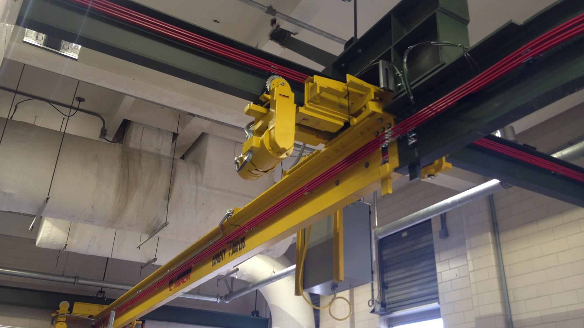 Mass Crane and Hoist - Interlocking Crane and Curved