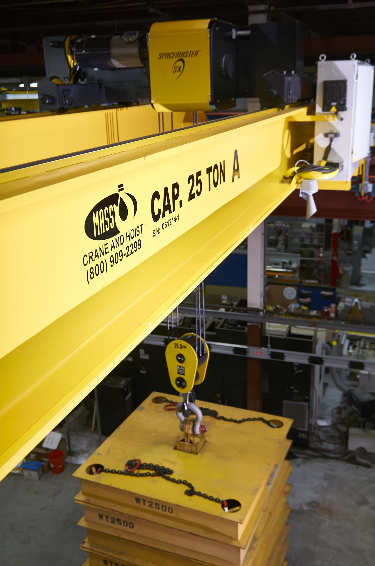 Mass Crane and Hoist - Service and Parts
